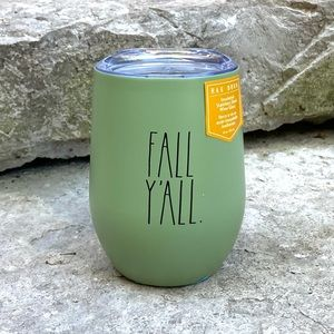 Rae Dunn FALL Y'ALL Insulated Wine Glass